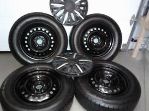 Set roues Hiver Neuf Minerva 225 65R17/ Jantes CRV origine+ enj
