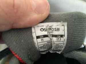 Osh Kosh Brand Child Size 11 Running Shoes Edmonton Edmonton Area image 3
