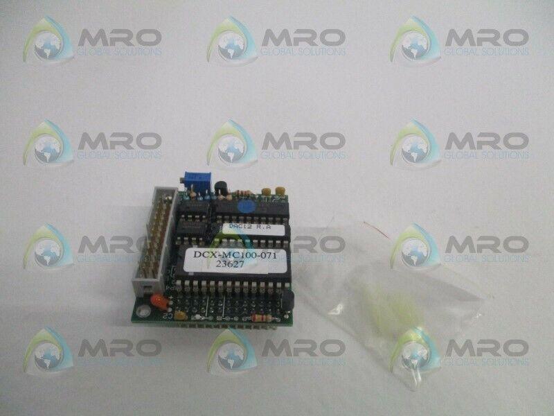 PMC DCX-MC100-071 SERVO MOTOR CONTROL MODULE * USED *