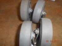 set of 4 caster wheel