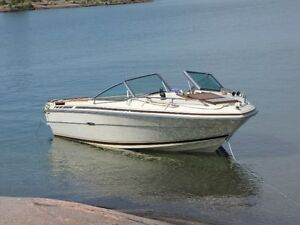 19.5 Searay SRV boat with tandem trailer