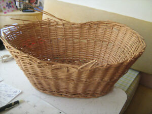 Broken Bamboo Basket--$5.