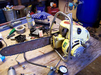 looking for older chainsaws not running for repair any chainsaws