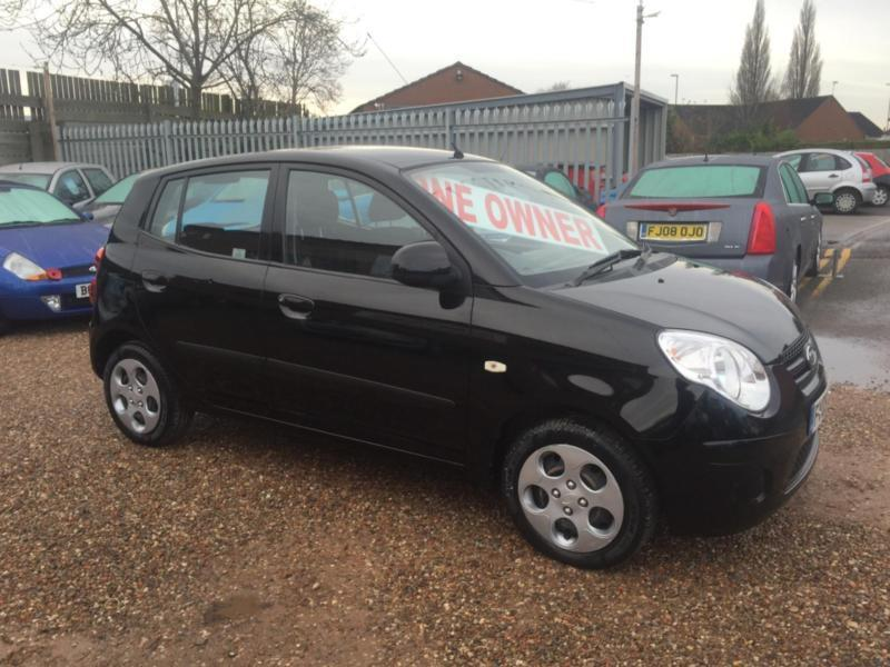 2009 09 kia picanto 1 1 chill black 5dr hatch any px welcome in lincoln lincolnshire. Black Bedroom Furniture Sets. Home Design Ideas