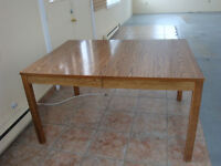 Table with Extension