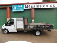 Ford Transit 350 Lwb Dropside With Storage Box