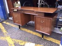 Gorgeous Retro G Plan Tola Writing Desk/ Dressing Table
