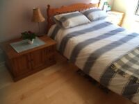 King size room with breakfast for festival let from £50/ night