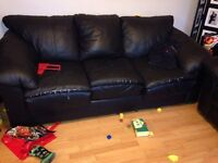 Couch chair and loveseat
