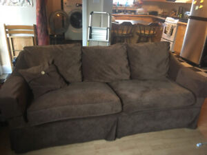 Big Brown Comfy Couch