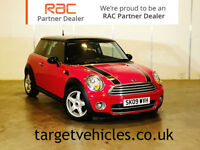 2009 MINI 1.6TD COOPER D CHILI. 1 PREVIOUS OWNER WITH FULL SERVICE HISTORY.