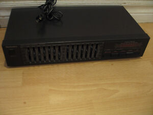 TECHNICS EQUALIZER SH-8027 14 BAND IN TOTAL