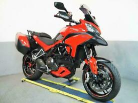 2014 Ducati Multistrada 1200 S touring 22k Leo Vince pipe,carbon, side cases