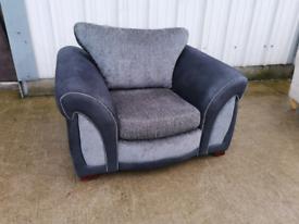 Dfs grey fabric Armchair 🚚🚚