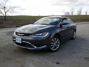 CHRYSLER 200C TOP OF THE LINE