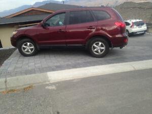 2007 Hyundai Santa Fe Deep maroon SUV, Crossover