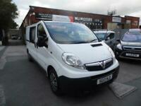 2013 Vauxhall Vivaro 2.0CDTI [115PS] Doublecab 2.9t Euro 5 PANEL VAN Diesel Manu