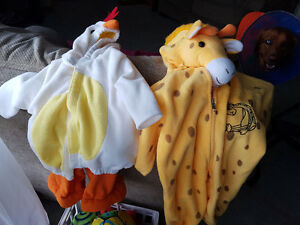 2 halloween costumes 6 mth and 24 mths  9 each Sarnia Sarnia Area image 1