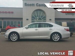 2009 Lexus LS 460 UNKNOWN  - one owner - local - trade-in - sk t