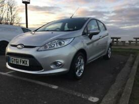 Ford Fiesta 1.4 ( 96ps ) 2012MY Zetec