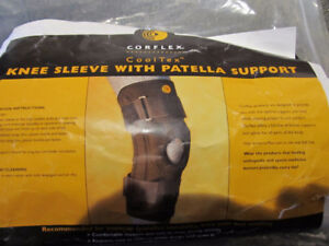 Brand new Corflex knee sleeve with pattela support size Small