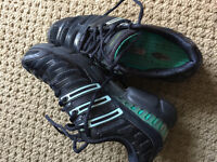 Almost new adidas women clima running shoes