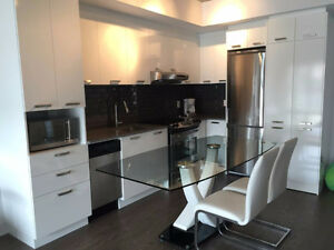 New Condo 3 1/2+den, 8 new appliances+furnished