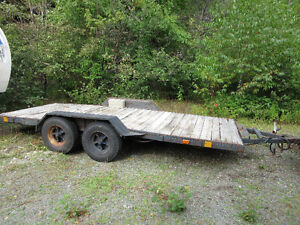 16 ft. Tandem Axle Trailer