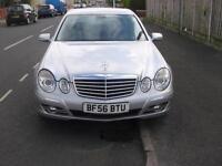 56 plate Mercedes-Benz E220 2.1CDI auto CDI Avantgarde