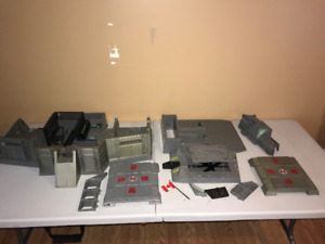 1983 GI Joe Headquarters & Parts