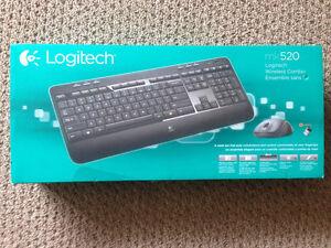 Logitech mk520 Wireless Combo keyboard and mouse - new