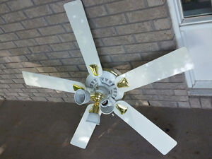 Large ceiling fan - Grand ventilateur de plafond