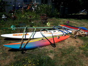 WATER WIND SURFERS & ALL ACCESSARIES