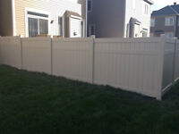 PVC FENCE  ON SALE