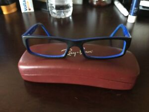 Kids Ray Ban Eye Glass Frames ( Authentic) Black & Blue