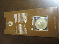 1976 Montreal Olympics Solid Gold 1/4 oz Coin mint sealed w COA