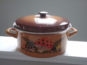 Mushroom Theme Large Cooking Pot