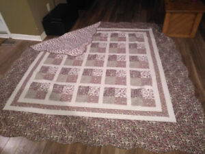 Beautiful Queen Size Quilt for sale!