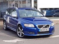 Volvo V50. 8995. I have driven it less than 200 miles. MOT, 1 year, Cannot now cover bank loan