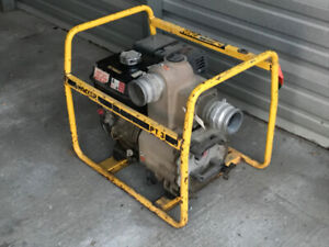 LOT OF 4 WATER / TRASH PUMPS 2 AND 3 INCH - $2000 FOR THE LOT!