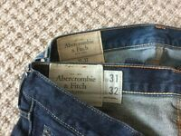 Mens A&F Jeans