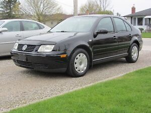 2002 Volkswagen Jetta 1.8T , One owner from new !