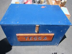 Tack Box complete with contents