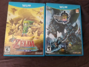 Zelda windwaker & Monster Hunter 3 Ultimate