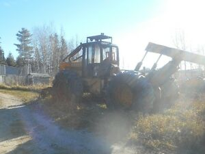 John Deere 740A Grapple Skidder