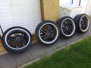 Status Rims and Toyo Proxes Tires