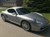 PORSCHE CAYMAN S TIPTRONIC 3.4 GT SILVER **OUTSTANDING CONDITION**FULL HISTORY**