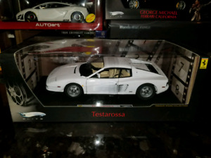 SOLD 1:18 Diecast Hot Wheels Elite Ferrari Testarossa Miami Vice