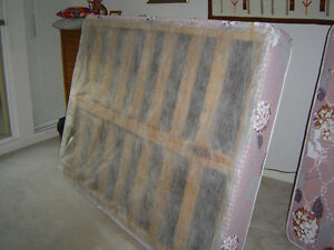 Double bad base plus mattress for sale