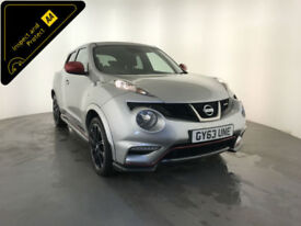 2013 63 NISSAN JUKE NISMO DIG-T 5 DOOR HATCHBACK 197 BHP 1 OWNER FINANCE PX